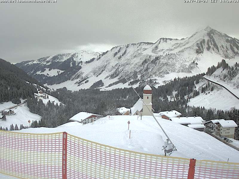 Webcam Oberdamüls 1450m